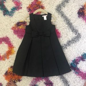 Janie and Jack Girls 2T Black formal dress
